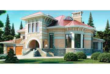 Проект кирпичного дома АСД-1066
