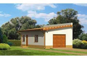 Проект гаража АСД-1663