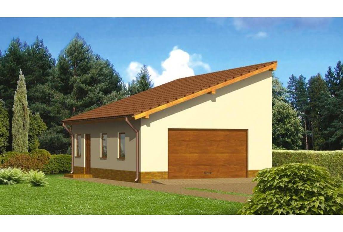 Проект гаража ГЦ-13