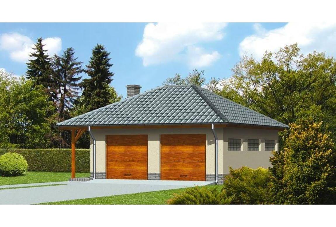 Проект гаража ГЦ-21