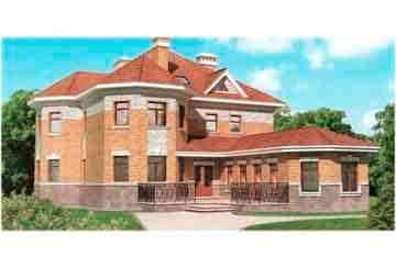 Проект кирпичного дома АСД-1067