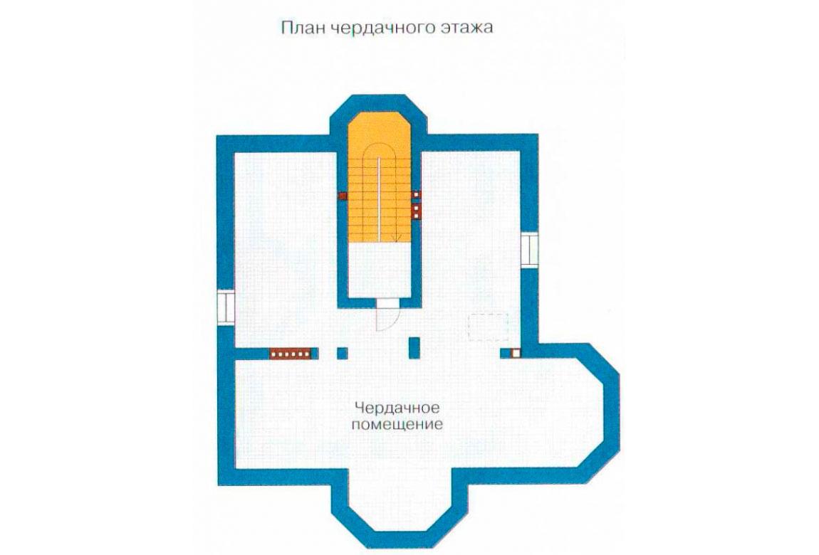 План N3 проекта кирпичного дома АСД-1067