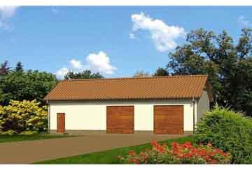 Проект гаража АСД-1670