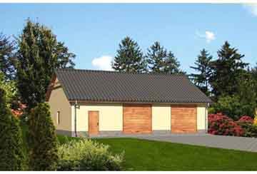 Проект гаража АСД-1671