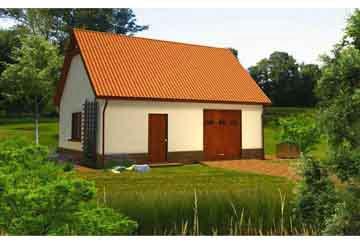 Проект гаража АСД-1672