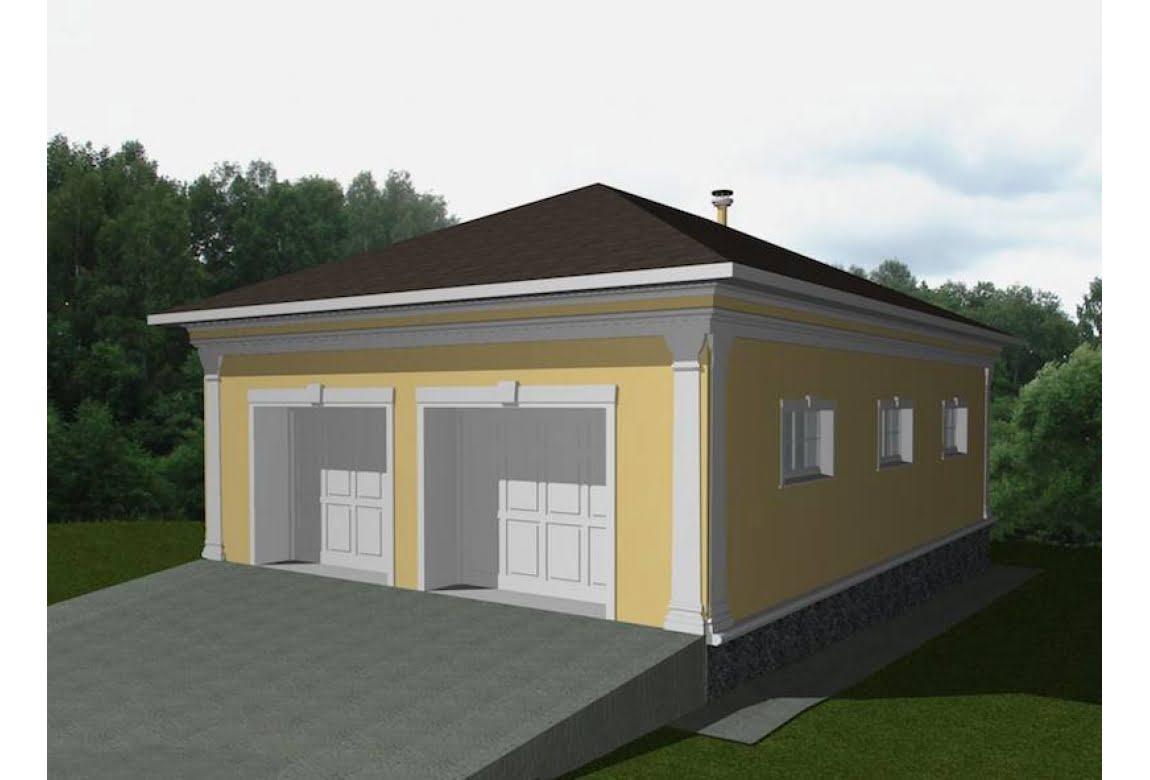 Проект гаража МП-803