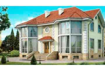 Проект кирпичного дома АСД-1068