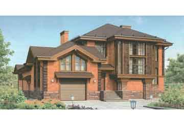 Проект кирпичного дома АСД-1680