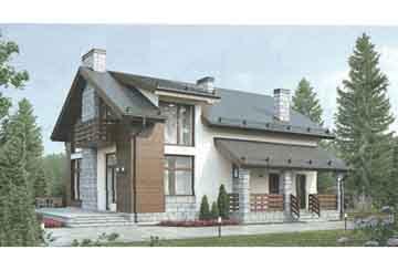 Проект дома из блоков АСД-1681