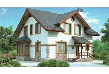 Проект кирпичного дома АСД-1007
