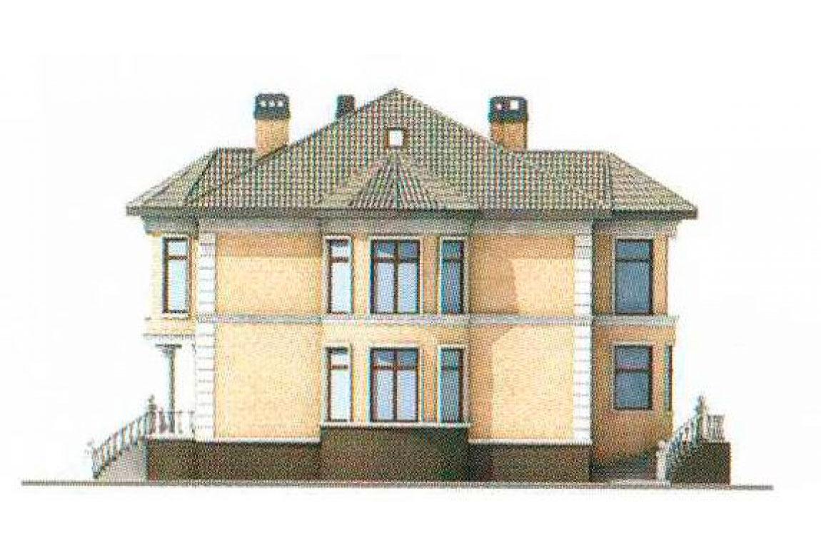 Проект дома из кирпича АСД-1070 (uploads/gss/goods/70/big_4.jpg).