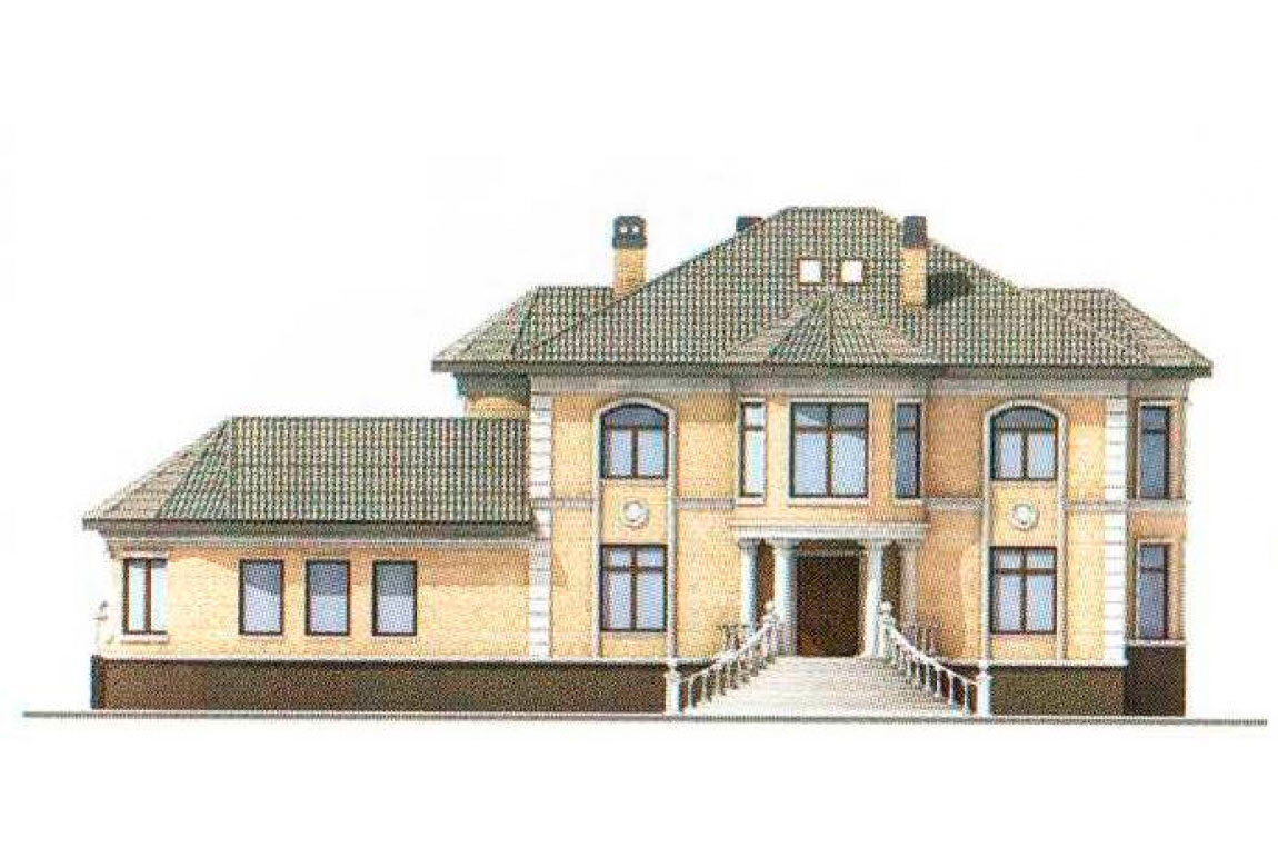 Проект дома из кирпича АСД-1070 (uploads/gss/goods/70/big_5.jpg).
