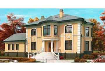 Проект кирпичного дома АСД-1070