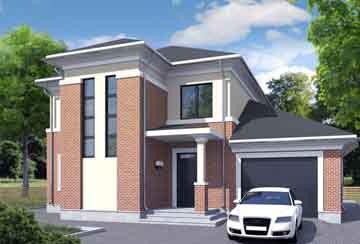 Проект кирпичного дома АСД-1703