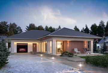 Каркасный дом АСД-Липпия