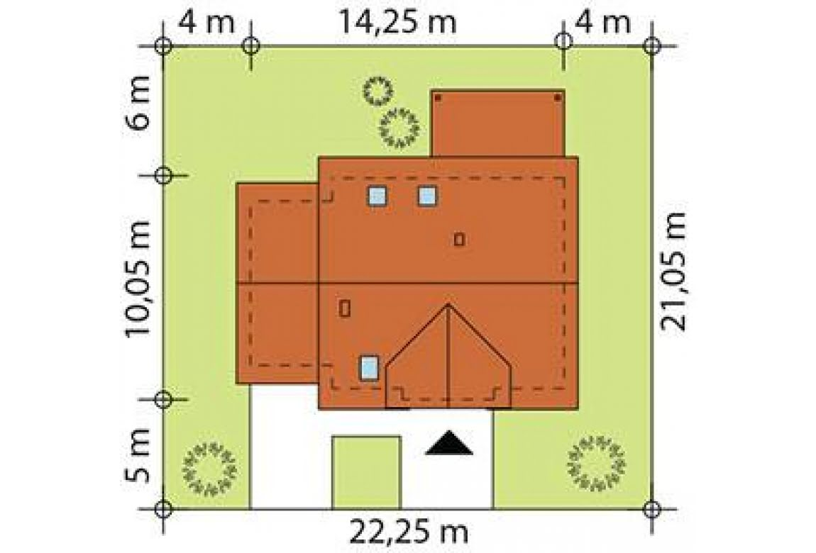 План N3 проекта каркасного дома АСД-Сенполия