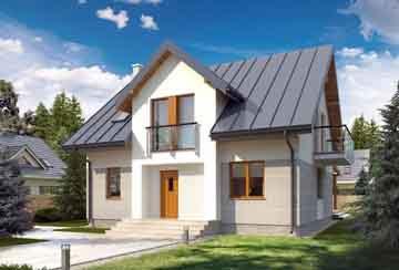 Каркасный дом АСД-1730
