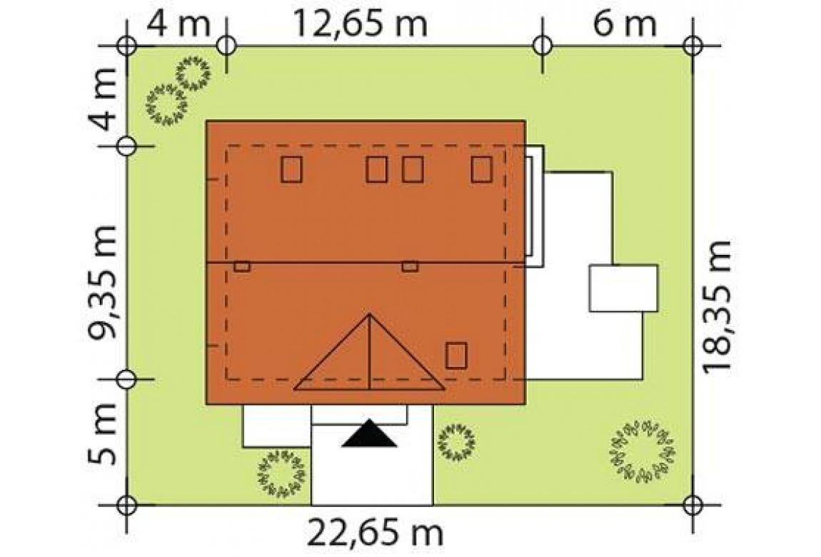 План N3 проекта каркасного дома АСД-Сильфия