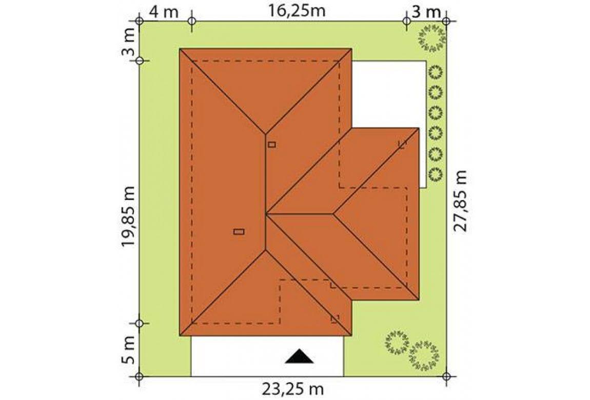 План N2 проекта каркасного дома АСД-Цикламен