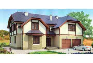 Проект кирпичного дома АСД-1074
