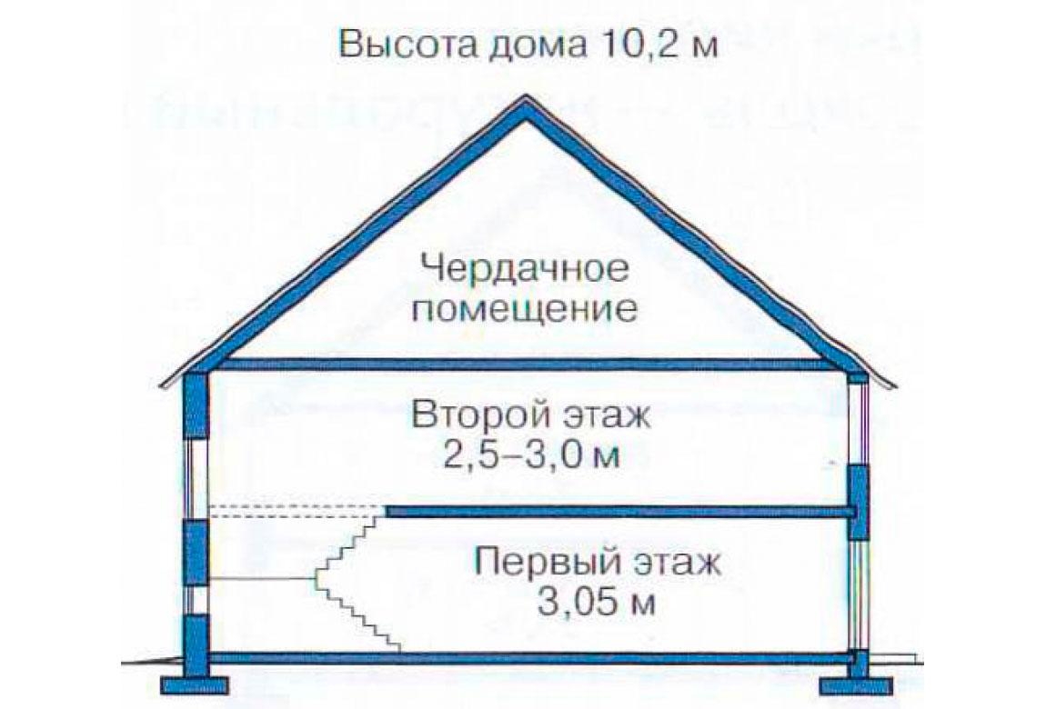 План N3 проекта кирпичного дома АСД-1074