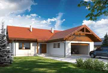 Каркасный дом АСД-1740