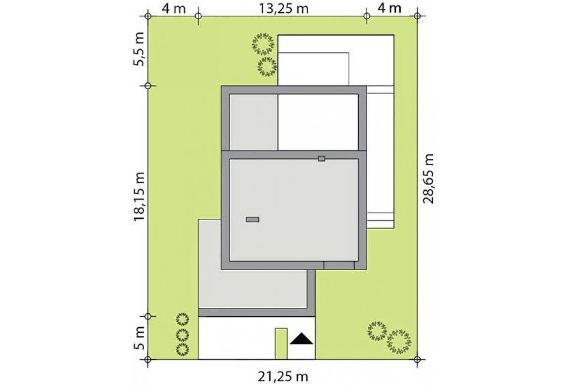 План N3 проекта каркасного дома АСД-Вероника