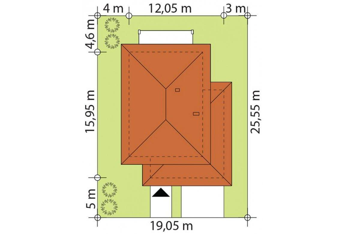 План N3 проекта каркасного дома АСД-Галакс