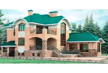 Проект кирпичного дома АСД-1076