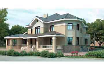 Проект кирпичного дома АСД-1077