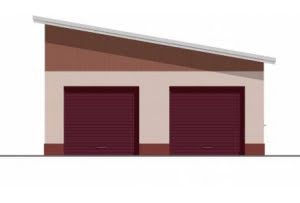 Проект гаража ГР-001
