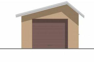 Проект гаража ГР-002