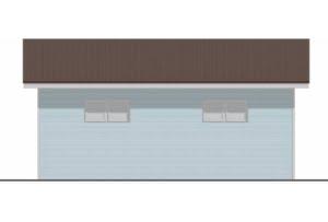 Проект гаража ГР-003