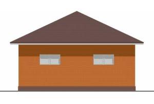 Проект гаража ГР-004