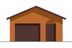 Проект гаража ГР-006