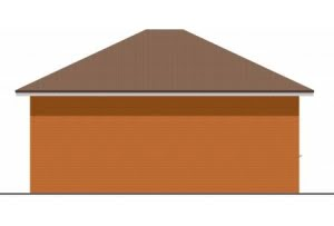 Проект гаража ГР-009