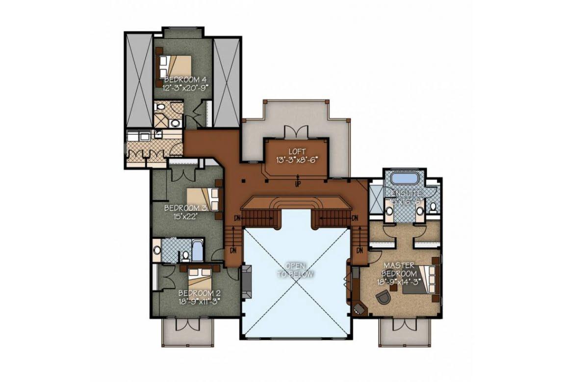 План N2 проекта ВИП дома АСД-Склон Холма