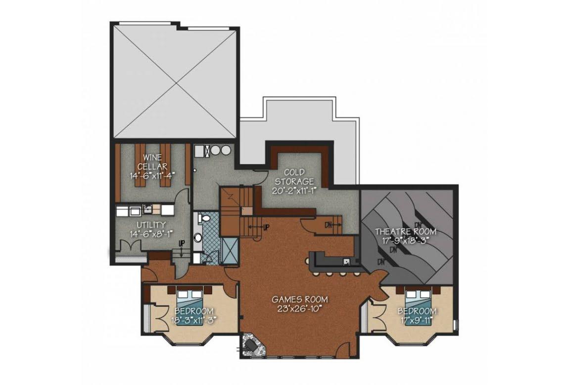 План N3 проекта ВИП дома АСД-Склон Холма