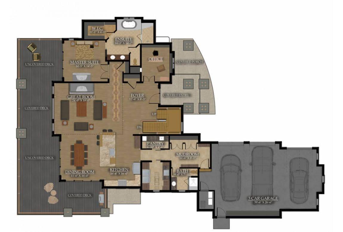 План N1 проекта ВИП дома АСД-Степные Угодья