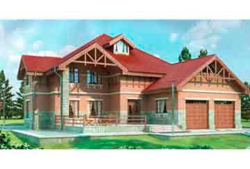 Проект кирпичного дома АСД-1079