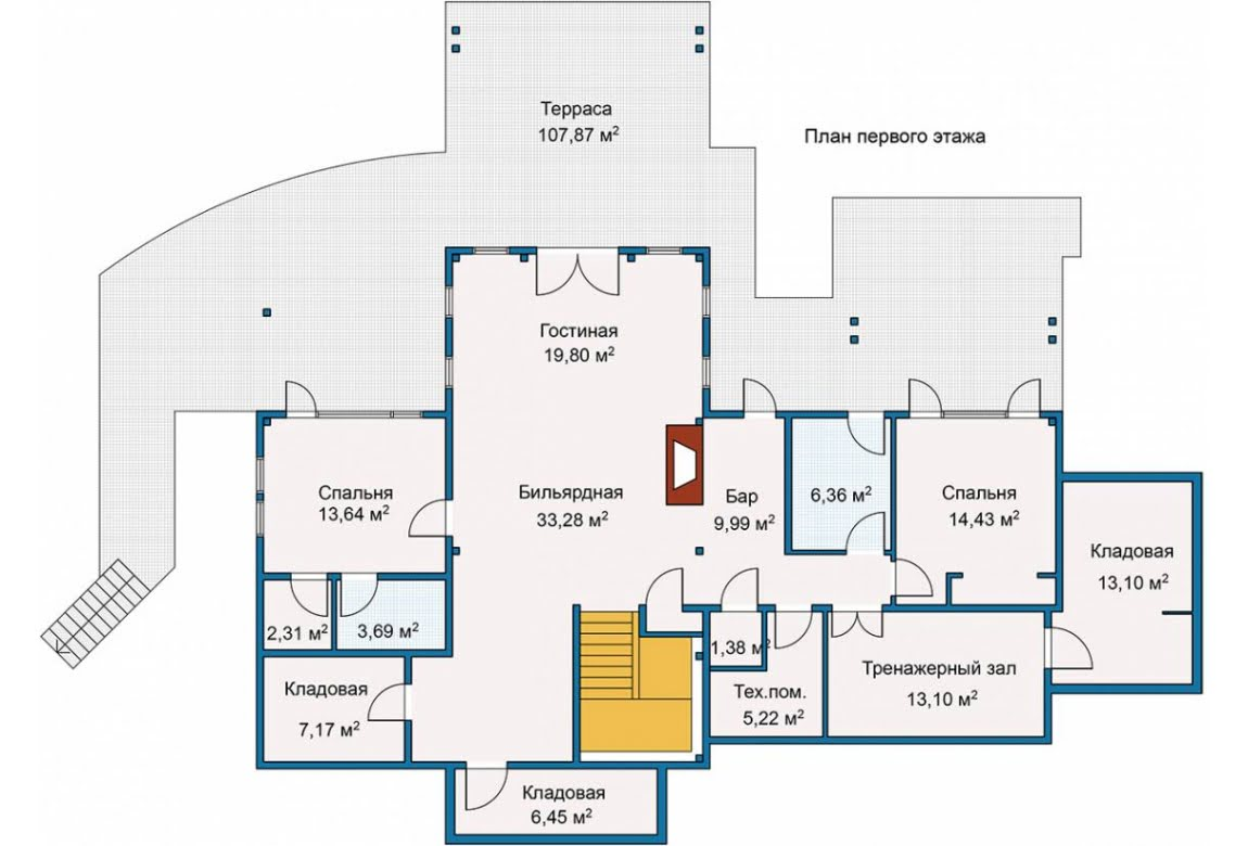 План N1 проекта ВИП дома АСД-Сэндпойнт