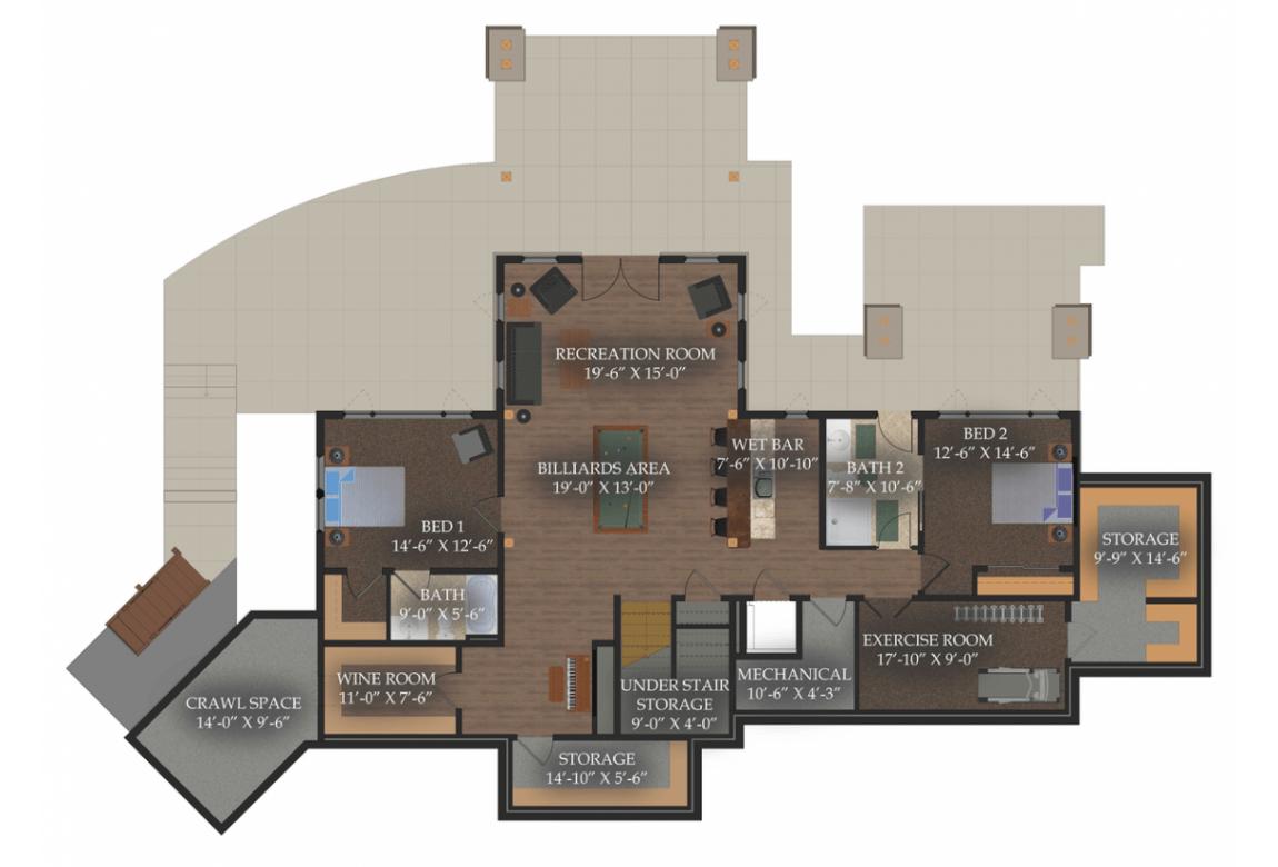 План N4 проекта элитного дома АСД-Сэндпойнт