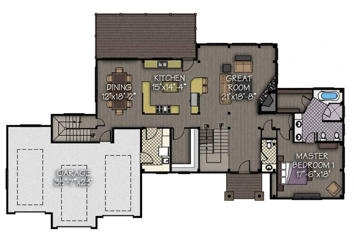 План N1 проекта ВИП дома АСД-Тихая Долина
