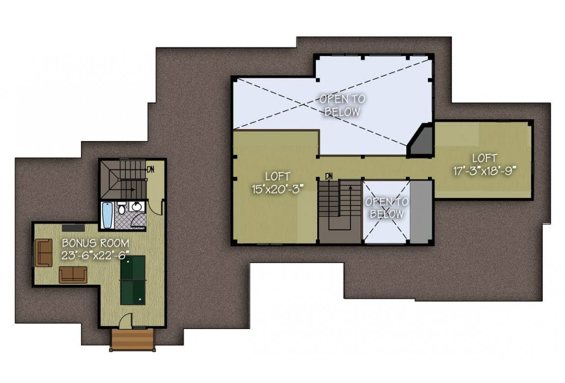 План N2 проекта ВИП дома АСД-Тихая Долина