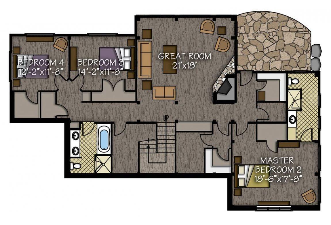 План N3 проекта ВИП дома АСД-Тихая Долина