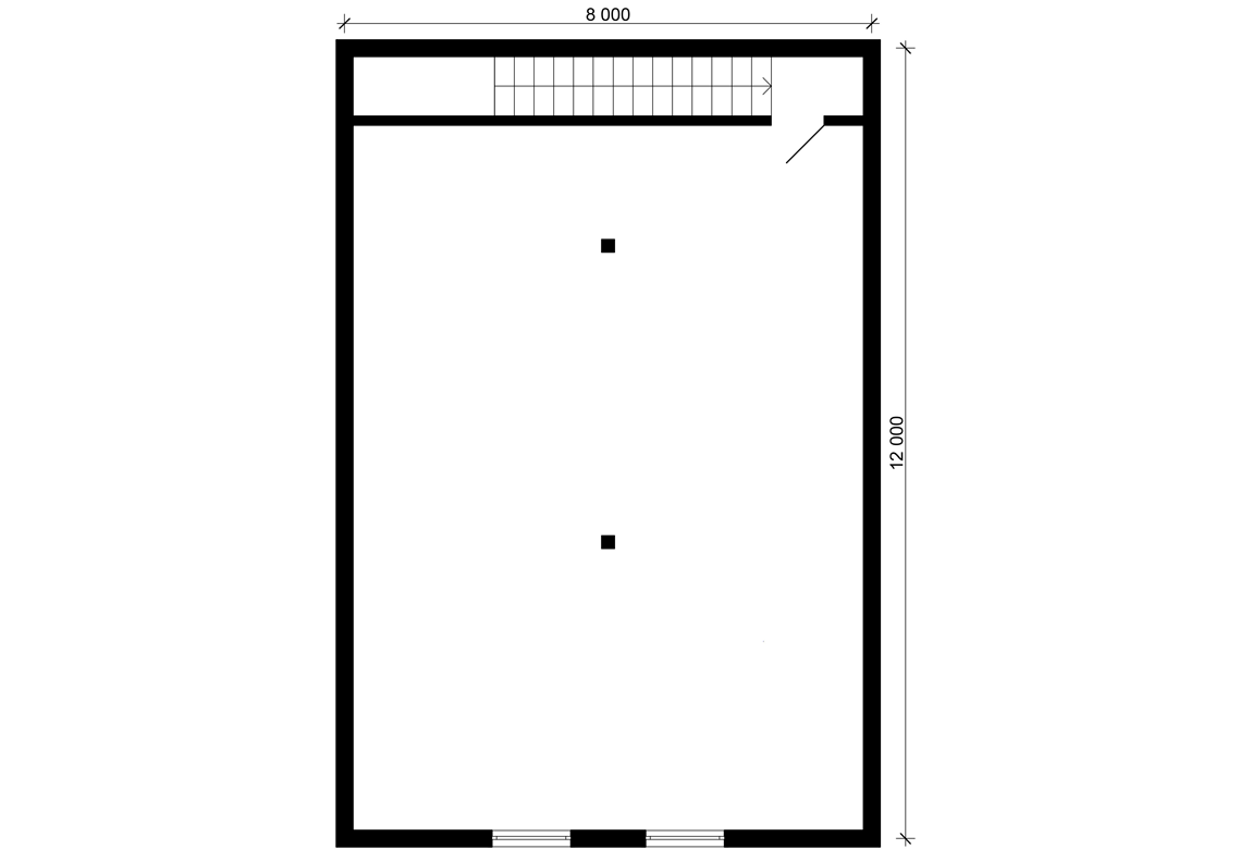 План N2 проекта гаража АСД-Венеция