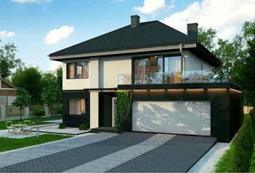 Проект дома из блоков АСД-1796