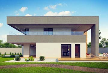 Проект дома из блоков АСД-1797