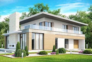 Проект дома из блоков АСД-1798