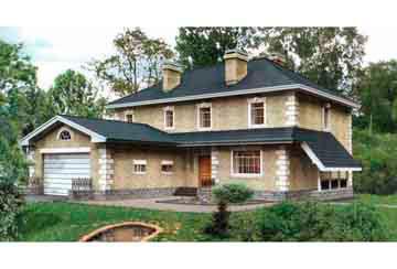 Проект кирпичного дома АСД-1080